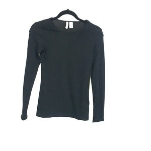 Divided H & M Basic Black Top Size XS